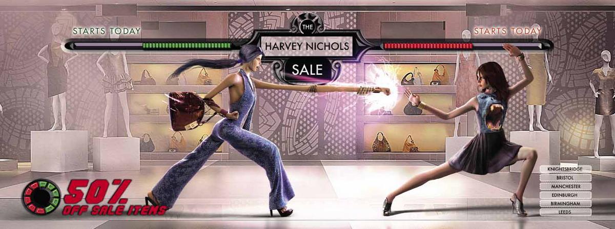 Harvey Nichols Summer Sale: битва на распродаже.