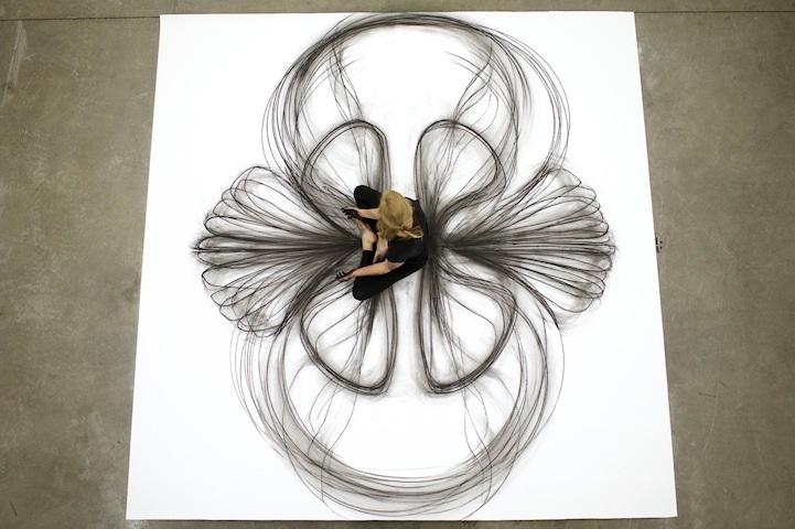 Heather Hansen: йога и искусство.