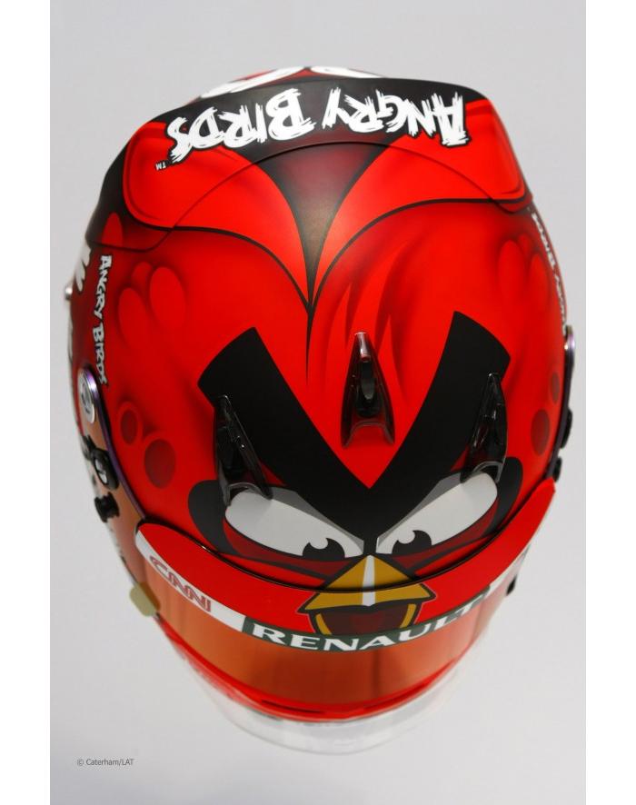 Heikki Kovalainen стал злобной птицей.