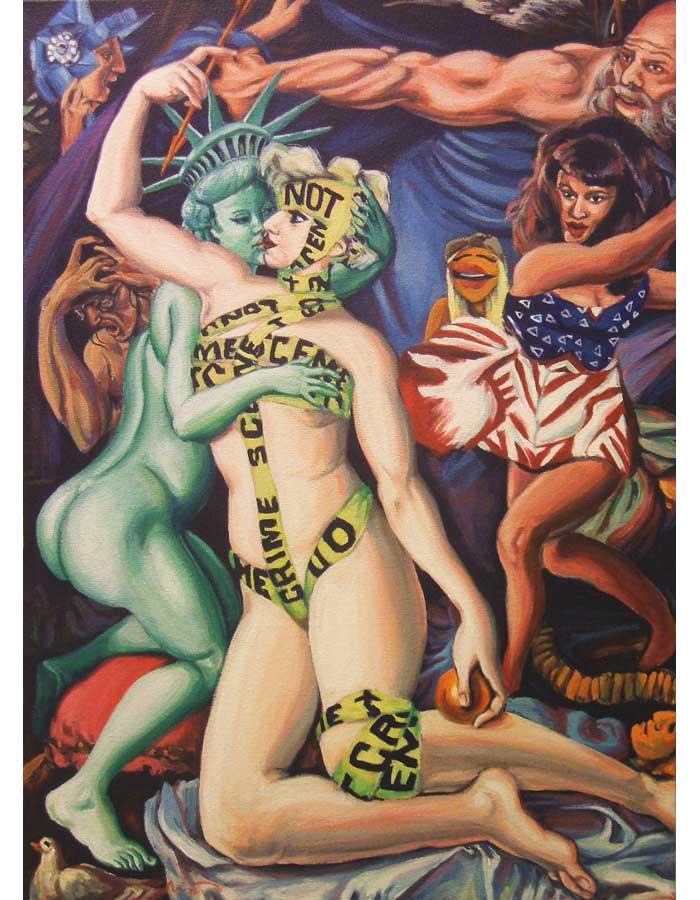 Иллюстратор Hillary White.
