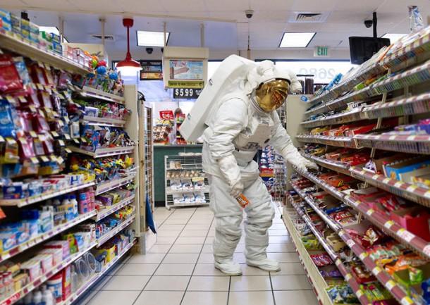 Hunter Freeman: один день из жизни астронавта на Земле.