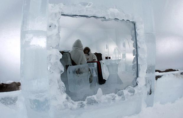 Alpha Resort-Tomamu: ледяной отель на Хоккайдо.