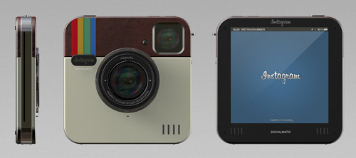 Instagram Socialmatic Camera.