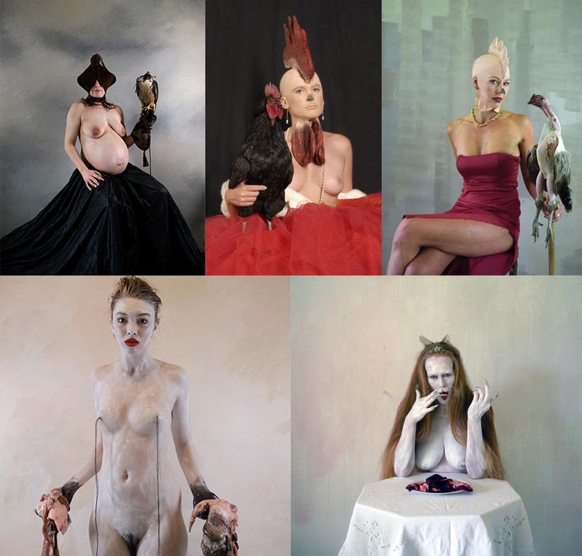Концептуальные фотографии Ione Rucquoi.