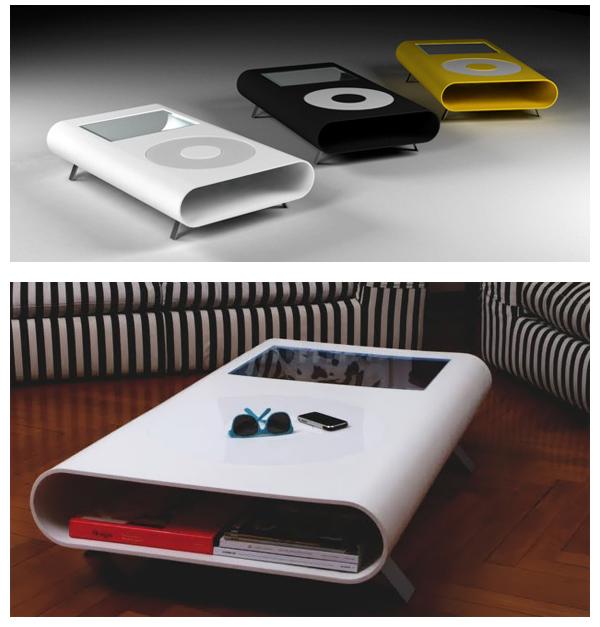 iTable: столы в форме iPod.