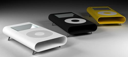 столы в форме iPod.