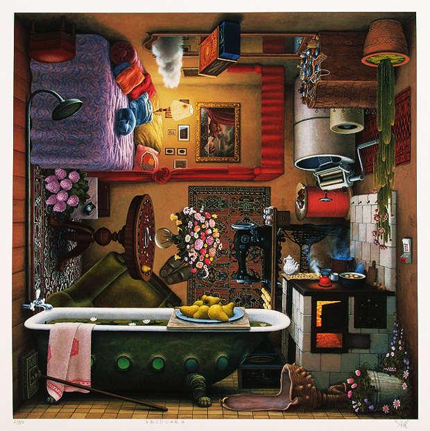Jacek Yerka: реалистичный сюрреализм.