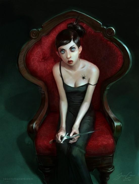 Иллюстрации Jason Chan.