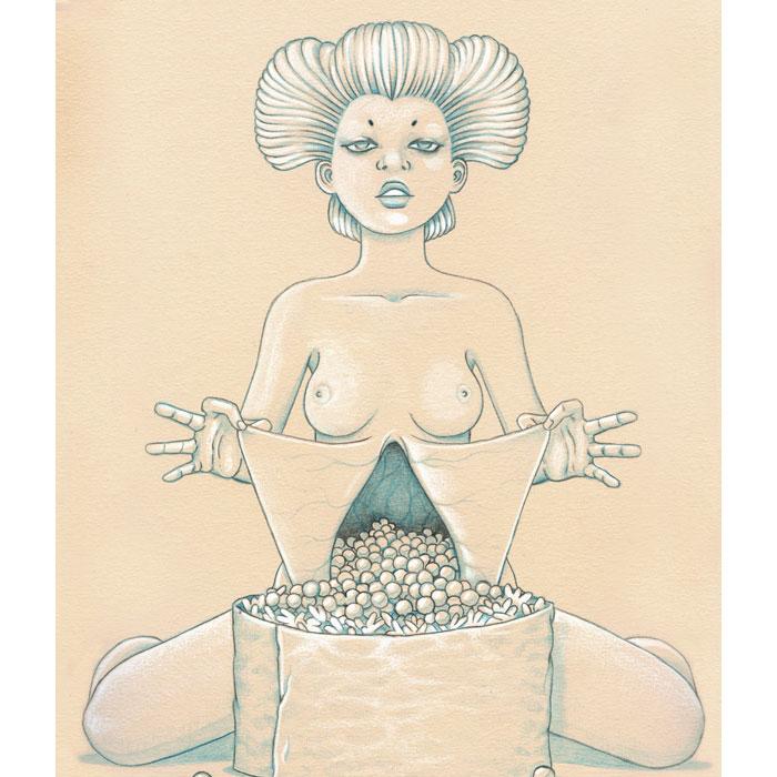Иллюстрации Jason Levesque.