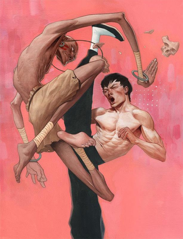Иллюстрации Jeremy Enecio.
