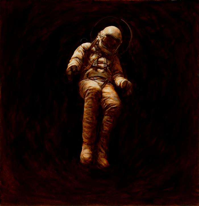 Космонавты и другие герои Jeremy Geddes.