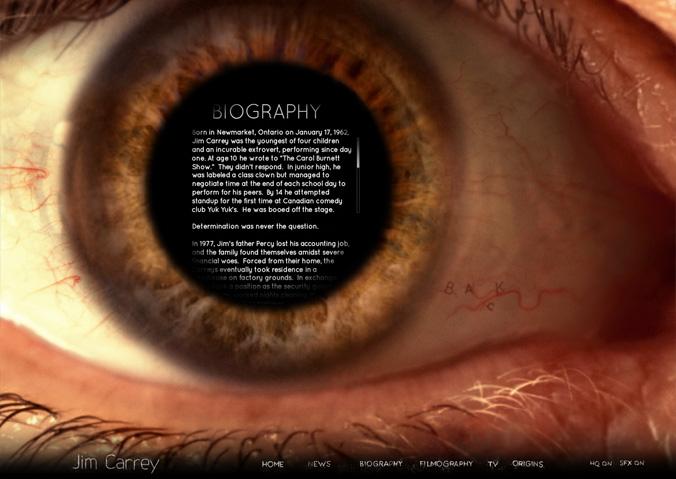 Jim Carrey: официальный сайт.