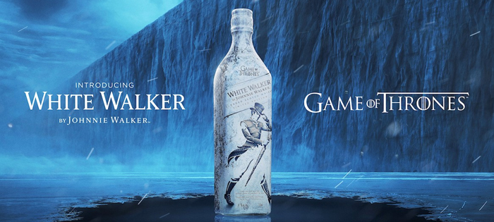 Johnnie Walker в стиле Game of Thrones.