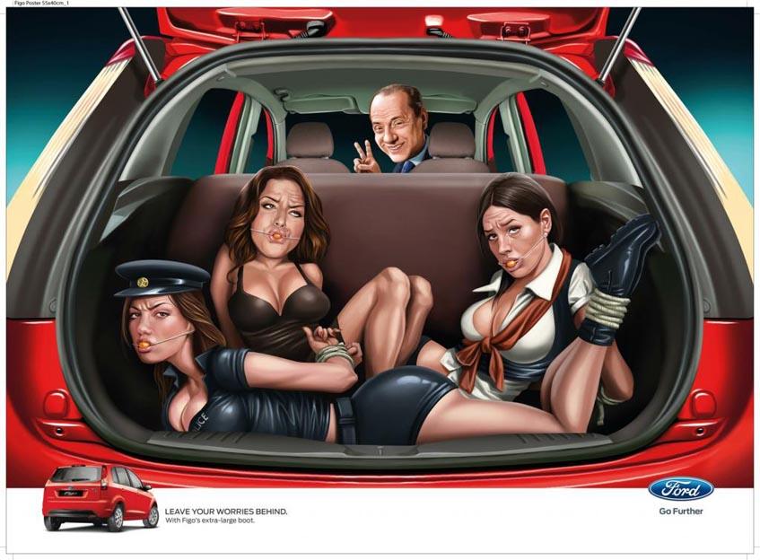 JWT извинились за рекламу Ford Figo.