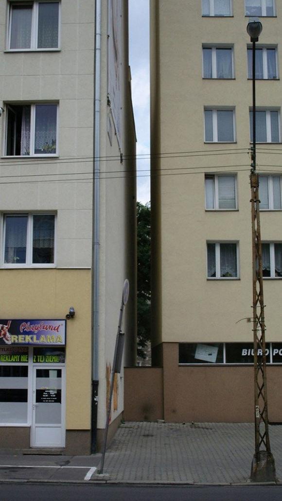Самая узкая квартира в мире.