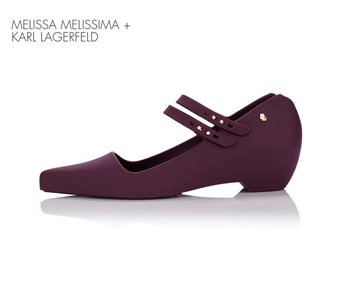 Karl Lagerfeld и туфли-мороженое для Melissa.