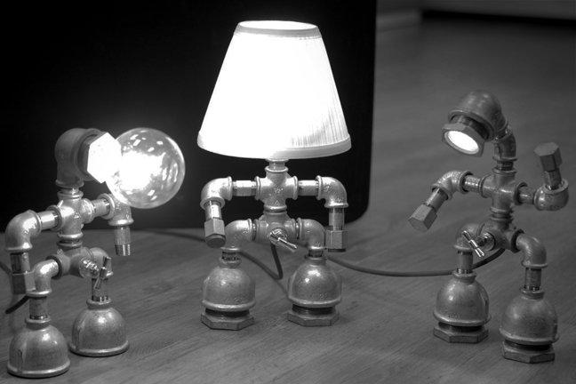 Уникальные лампы Kozo Lamp.