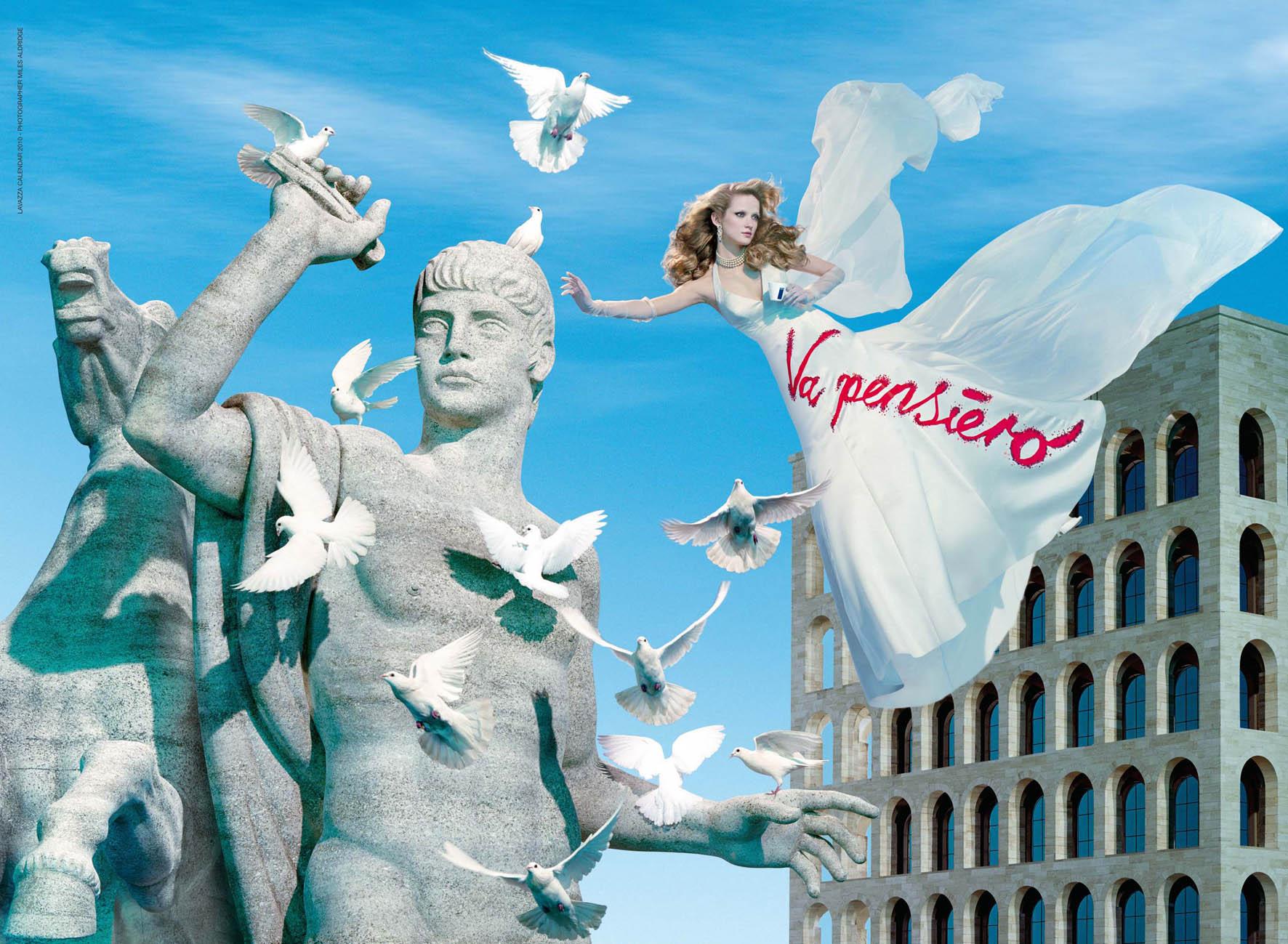Календарь Lavazza 2010..