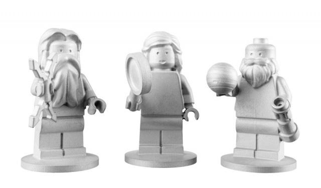 Фигурки Lego отправляются на Юпитер.
