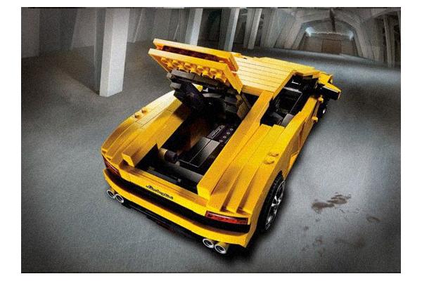 LEGO Lamborghini Gallardo.
