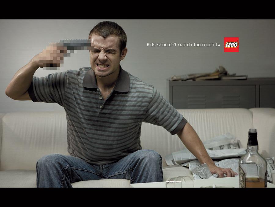 Lego: наркотики, секс и жестокость.