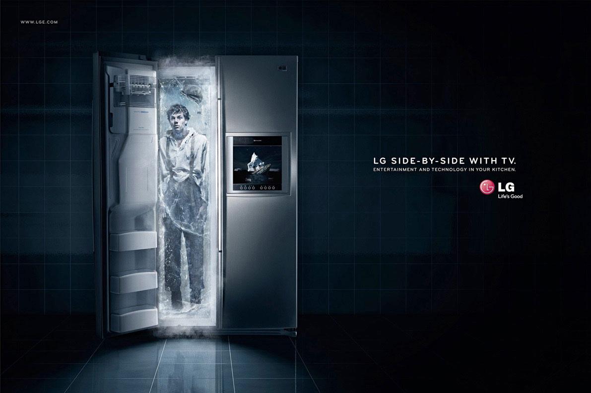 LG side-by-side: а что у вас в холодильнике?