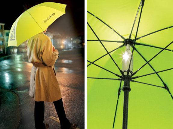 Безопасный зонт.