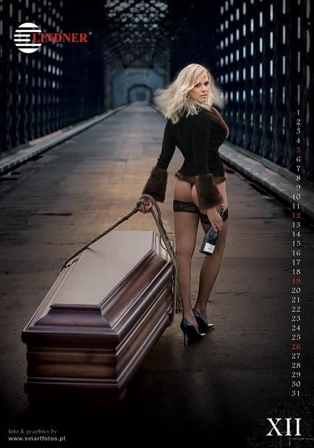 Lindner: календарь от гробовщиков.
