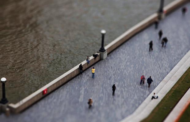 Маленький Лондон: tilt-shift фото от Toby Allen.