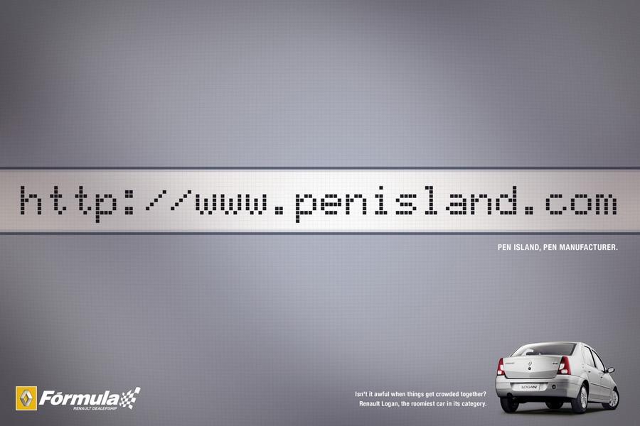 Penisland для Renault.