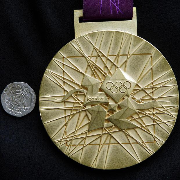 Медали олимпийских игр в Лондоне 2012.