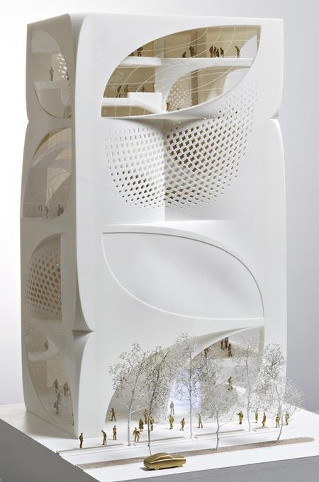 Дизайн флагманского магазина Louis Vuitton.