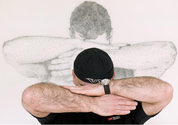Hammered: Marcus Levine и картины из гвоздей.