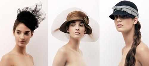 Шляпки и модели.