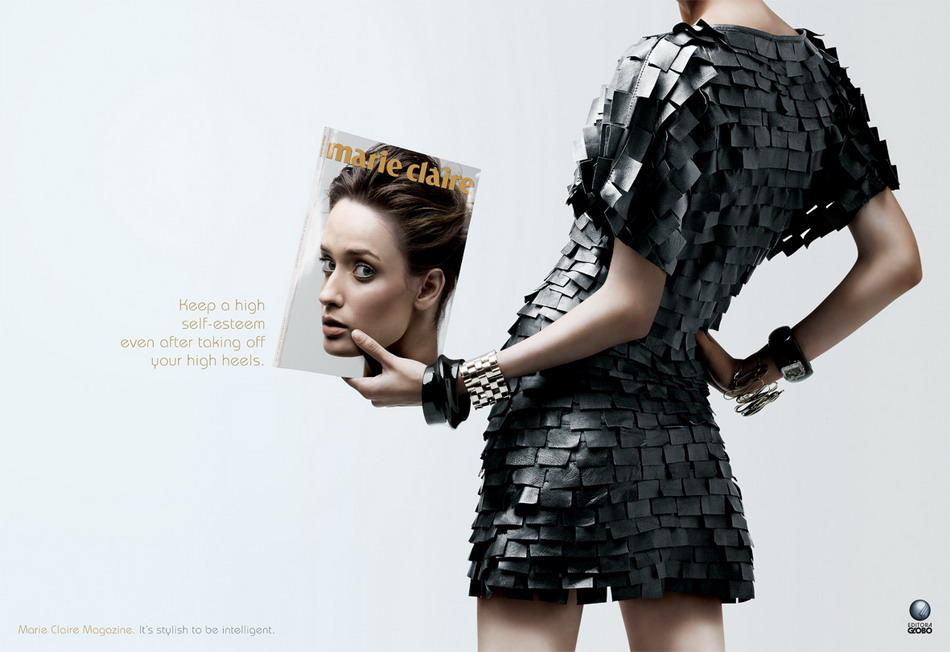 Marie Claire: безголовые модели.