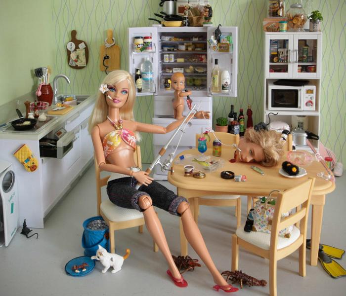 Кукольные фотографии Mariel Clayton.