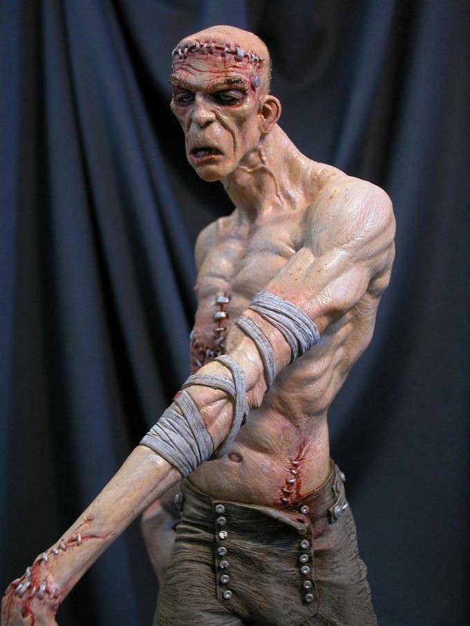 Выдающиеся скульптуры. Mark Newman.