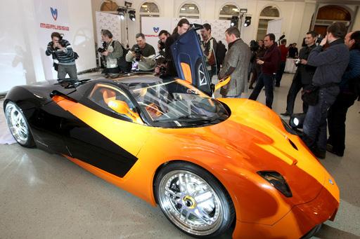 Marussia. Первый российский суперкар.