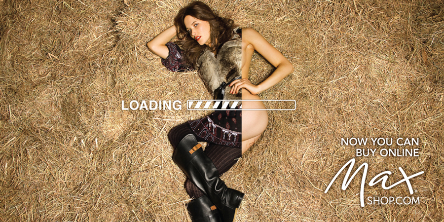 Max Fashion: Loading. Наружная реклама.