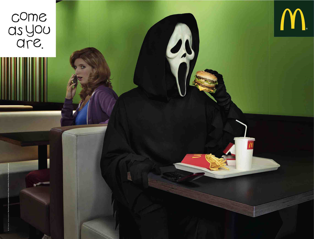 McDonalds: Come as you are.