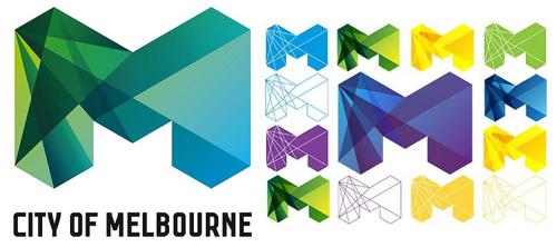 Новый логотип Мельбурна.