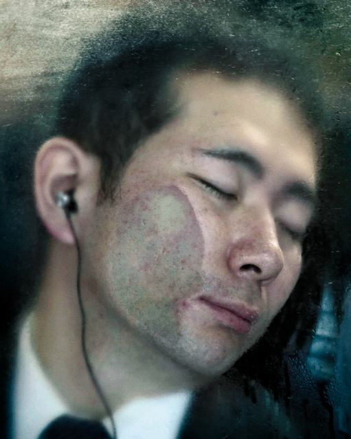 Michael Wolf: Токийское сжатие.