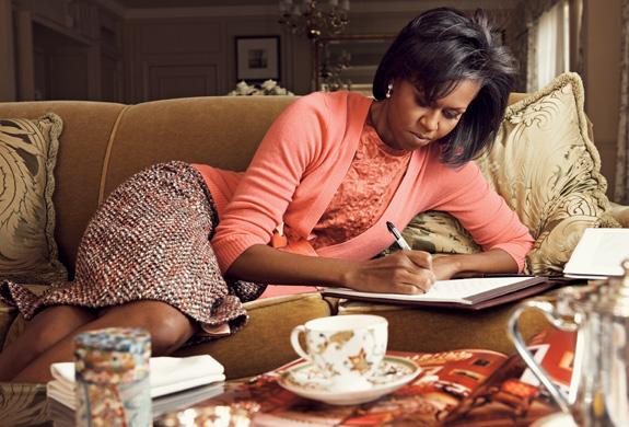Mrs.Obama. Vogue. March. Мишель Обама украсила собой обложку мартовского Vogue.