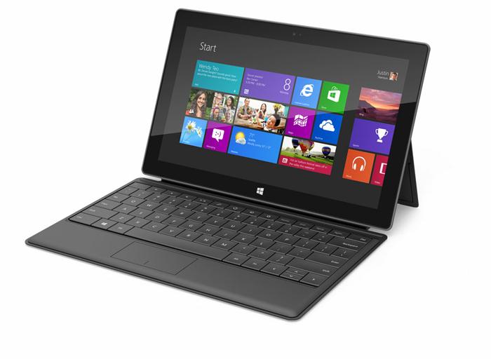 Microsoft показали Surface.