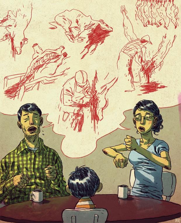 Работы Mikkel Sommer: Satan Said Draw.
