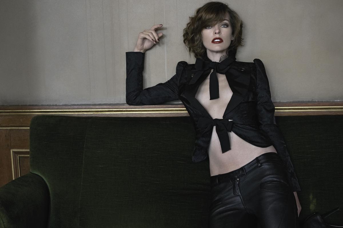 Милла Йовович в S Moda El Pais.