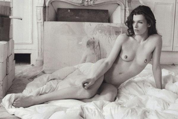 Milla Jovovich: откровенная фотосессия для Purple.