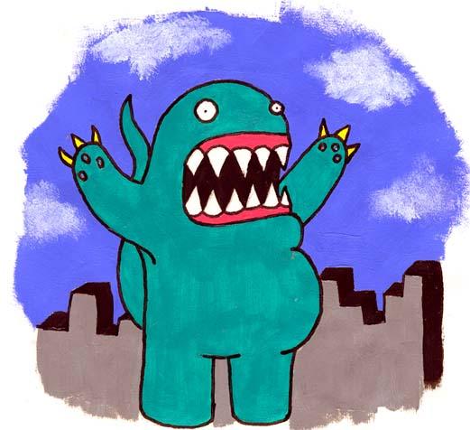Монстры на Monsters Monsters.