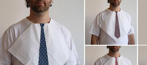 Салфетка с галстуком.