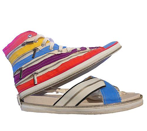 NAT-2. Сандалии и ботинки в одном.